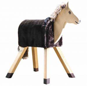Schönes Holzpferd für das Kinderzimmer von Funny Horses.