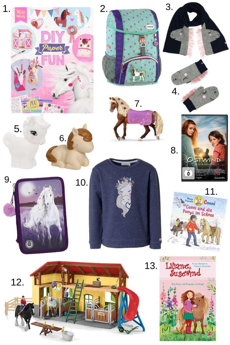 Weihnachtsgeschenke für Kinder zu Weihnachten 2019. Tolle Geschenkideen für Pferdefreunde.