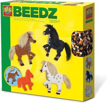 Bügelperlen - Pferde mit Mähne