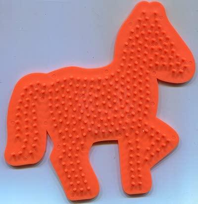 Bügelperlen Stifteplatte Pferd