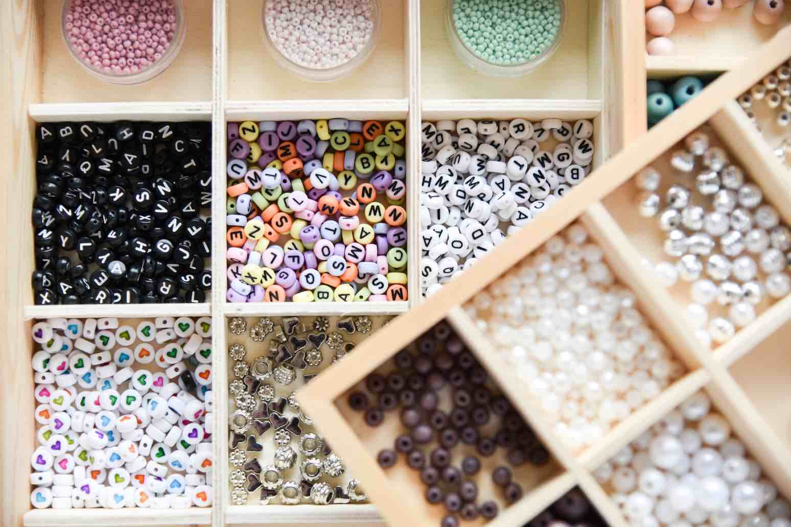 Perlenkasten: Praktische Aufbewahrung für Perlen