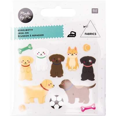 Bügelbild Hund von Rico Design
