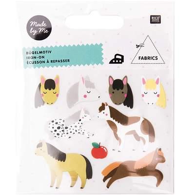 Bügelbild Pferd Pferde von Rico Design